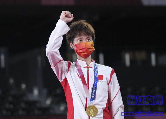 【2021东京奥运】陈雨菲为国羽女单夺取九年来首枚奥运金牌